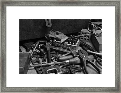 Ready To Work 2 Framed Print