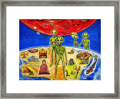 Framed Print featuring the painting ...ready? by Viktor Lazarev