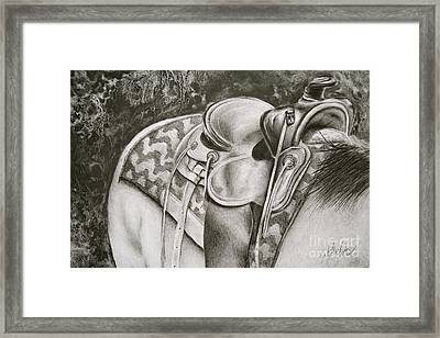 Ready When You Are Framed Print by Katie Hendrix Long