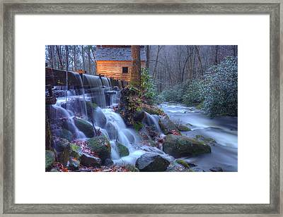 Framed Print featuring the photograph Reagan's Mill by Doug McPherson