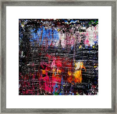 Real Artists Are Authentic Framed Print by Eckhard Besuden