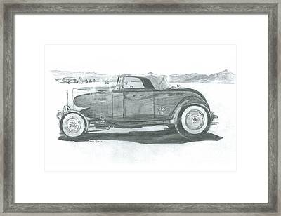 Real Car Guy...real Car Framed Print by Stacey Becker