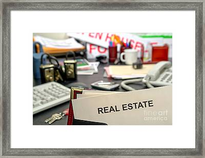 Real Estate Framed Print