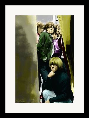 The Glimmer Twins Framed Prints