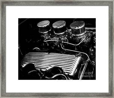 348 Chevrolet Framed Print
