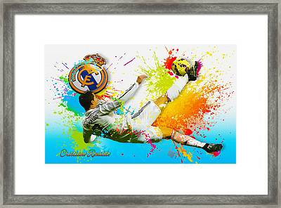 Real Madrid - Cr Framed Print