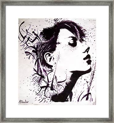 Real Realization Framed Print by Atinderpal Singh