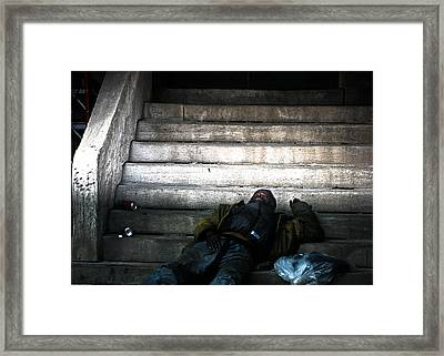 Reality Framed Print by Allan Millora