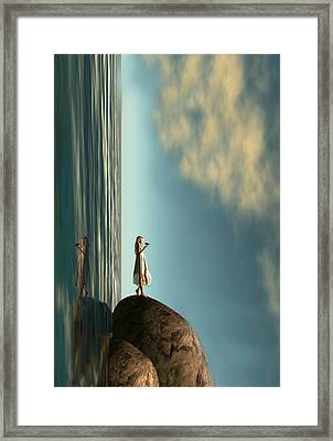 Reality Is Frequently Inaccurate  Framed Print