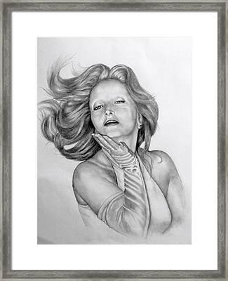 Really Darling Framed Print