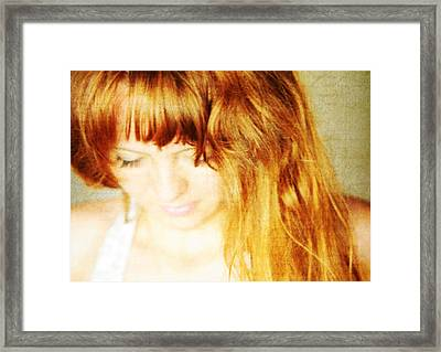 Really It Does Not Matter Framed Print by Jenny Rainbow