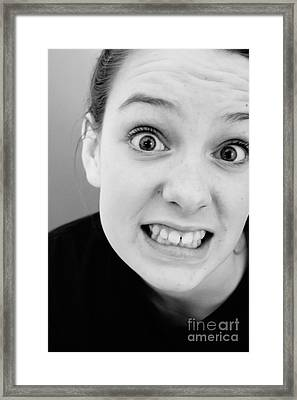 Really? Framed Print