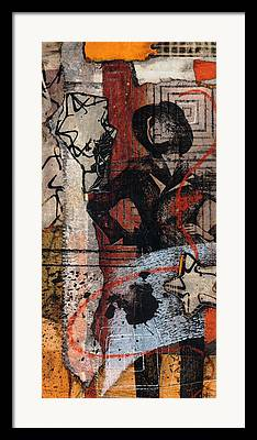 Transfer Mixed Media Framed Prints