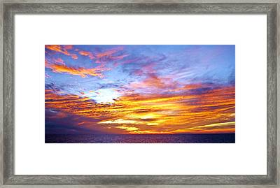 Realm Framed Print by Molly McPherson