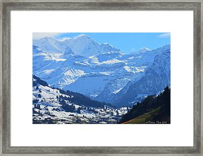 Realm Of Hope Framed Print by Felicia Tica