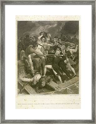 Rear Admiral Nelson Framed Print by British Library