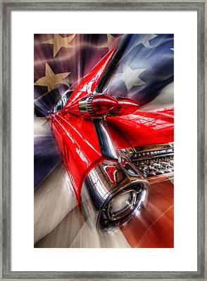 Rear Caddy Framed Print by Nathan Wright