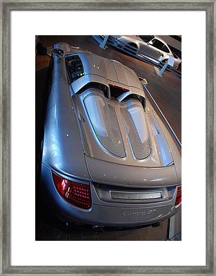 Rear Pov Framed Print