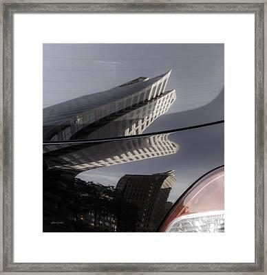 Rear Reflections Framed Print