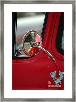 Framed Print featuring the photograph Rear View by Christiane Hellner-OBrien
