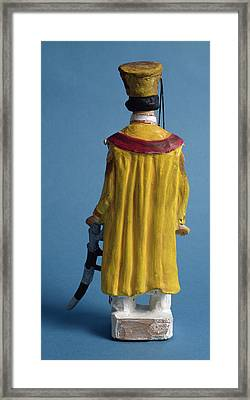 Rear View Of Ami Chand Framed Print