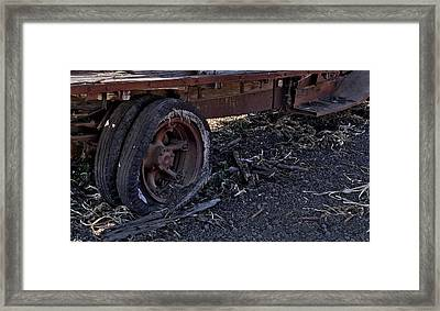 Framed Print featuring the photograph Rear Wheel Drive by Michael Gordon