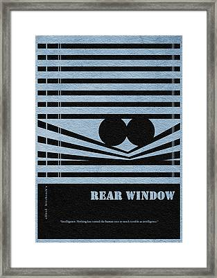 Rear Window Framed Print by Ayse Deniz