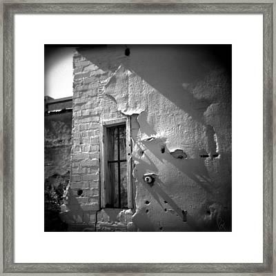 Rear Window Framed Print by Paul Anderson
