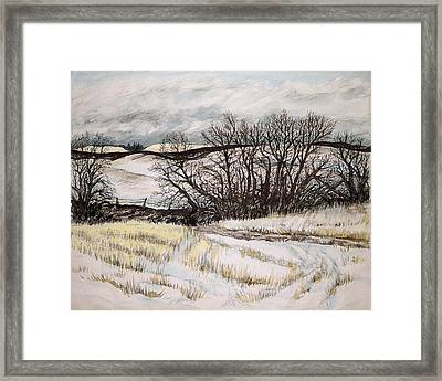 Reardon Wa Fields Framed Print