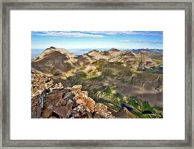 Reason To Climb Framed Print