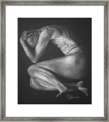 Framed Print featuring the drawing Reawakenings by Rachel Hames