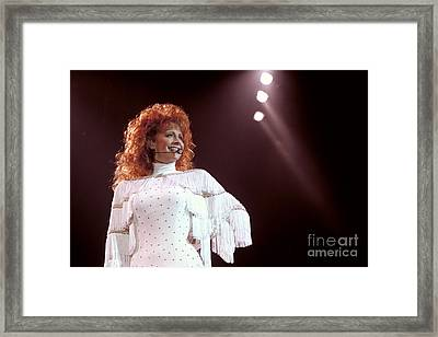 Reba Mcentire-58 Framed Print by Timothy Bischoff