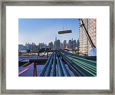 Rebar Framed Print