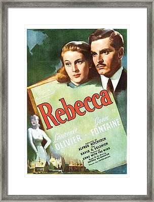 Rebecca - 1940 Framed Print