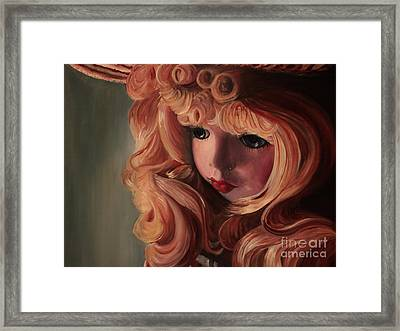 Framed Print featuring the painting Rebecca by Jane Autry