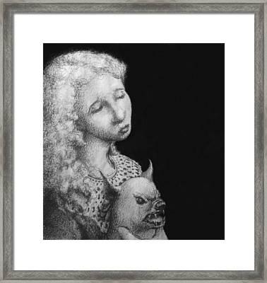 Rebecca Framed Print by Louis Gleason