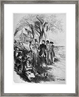 Rebecca Motte (1738-1815) Framed Print by Granger