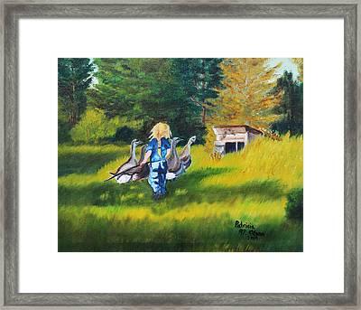 Rebecca Framed Print by Patricia Olson