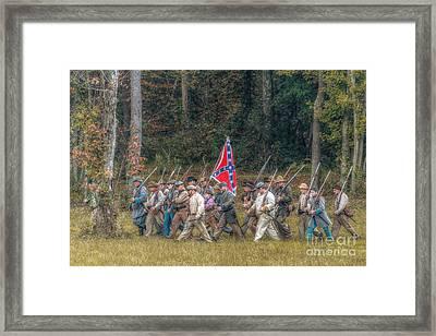 Rebel March Framed Print