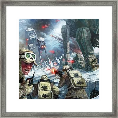 Rebel Rescue Framed Print