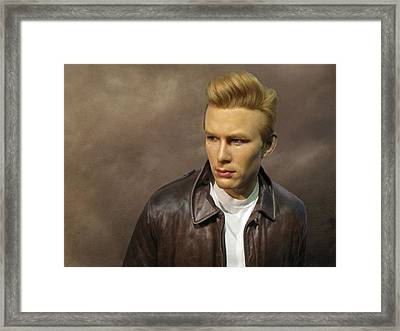 Rebel Without A Cause Framed Print by David Dehner