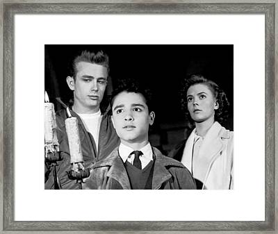 Rebel Without A Cause, From Left, James Framed Print
