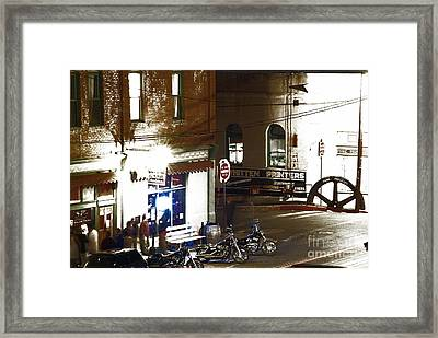 Rebellious Nature Framed Print by Robert Jensen