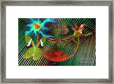Rebirth Of Life Framed Print