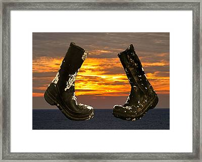 Reboot Framed Print by Eric Kempson