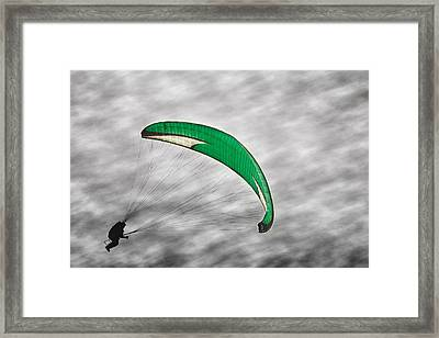 Recalculating Framed Print