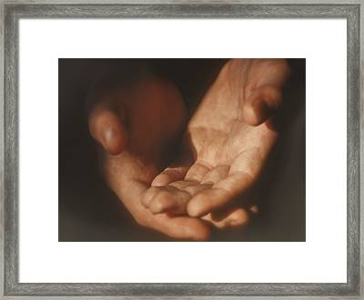 Receive Framed Print by Kellice Swaggerty