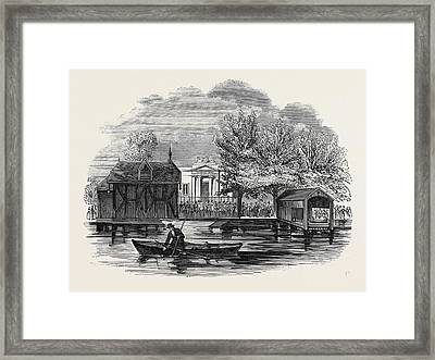 Receiving House Of The Royal Humane Society Framed Print