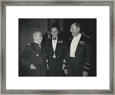 Reception At Elysee Framed Print by Retro Images Archive