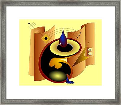 Reception Framed Print
